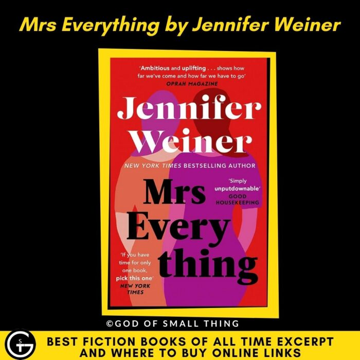 Fiction Book Mrs Everything by Jennifer Weiner Fiction book
